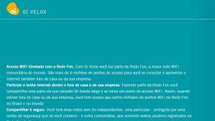 Oi WiFi Fon: sua conexão compartilhada sem permissão
