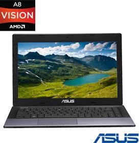 Notebook Asus K45DRVX014R AMD A8-4500M (Quad-Core), 8GB RAM, Radeon HD7470 (1 GB)